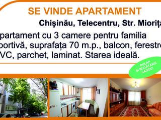 Apartament la telecentru Miorita