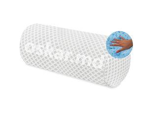 Подушка валик (Roll) - с эффектом памяти