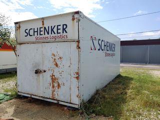 Container, spațiu de depozitare/încărcare, depozit, spațiu pentru cargo, box, vagon