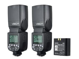 Godox VING V860II-C (Canon), E-TTL, HSS, сост.9.5/10, полный комплект (родной аккумулятор и зарядка)
