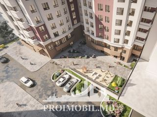 Noul Complex rezidenţial - Alexandru cel Bun! 2 camere + living, 60 mp!