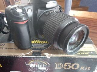 Nikon D50 в заводской комплектации