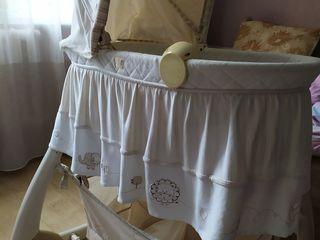 Продаю кроватку почти ни пользованную,как новую,от 0 до года .Центр.