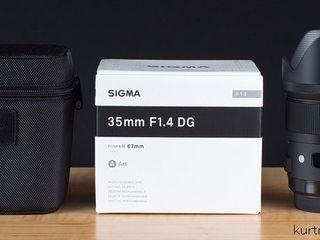 Sigma 35mm f1.4