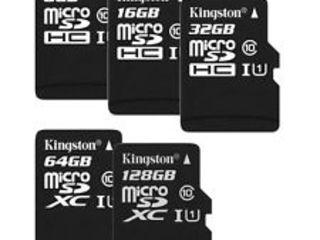 Cartele de memorie Transcend - Kingston - SanDisk ! microSD SD si CompactFlash - noi - garantie !