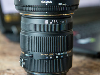 Sigma 17-50 mm 1:2.8 EX HSM