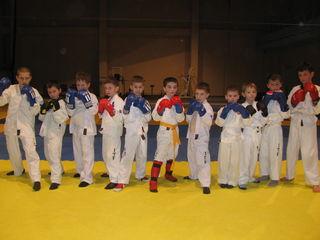 Taekwondo-judo -kickboxing de la 6 ani