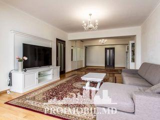 Rîșcani! 2 camere + living, reparație euro, 118 mp!