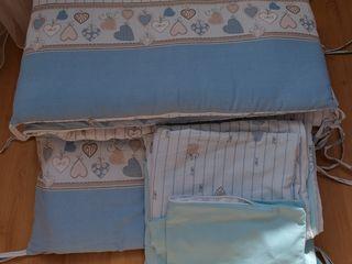 Продам бортики и постельное белье