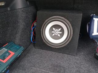 Мощный буфер 1200w +усилитель Power Acustik+ провода новые за 120 евро срочно