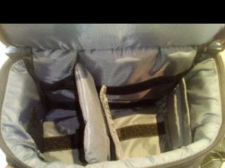 Рюкзак фото видео два больших отдела(в одном мягкие ркзделители) и много маленьких