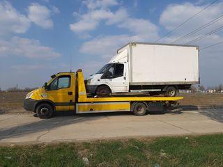 Tractari auto de urgenta în Chisinau si in orice regiune a Moldovei.