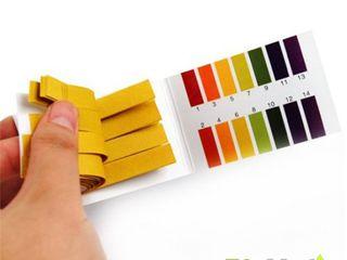 Benzi pH hartie de turnesol testare pH, Лакмусовые pН-полоски,тест анализатор pH