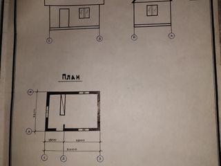 """Садовый домик на участке садового товарищества """"Стругураш"""""""