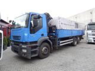 Услуги манипулятора (manipuliator Iveco) кузов 7650/2550/ 900 грузопод. 16 тонн по перечислению по