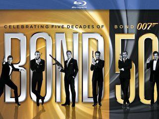 22 Джеймс Бонд фильмa на Blu-ray