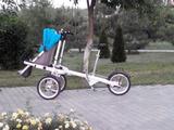 Велосипед-коляска для энергичных и продвинутых родителей !!