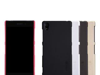 Sony Xperia Z2 чехол Nillkin Frosted Shield + защитная плёнка