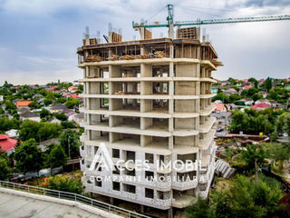 Bloc nou! str. Unirii, Stăuceni, 1 cameră + living. Variantă albă!