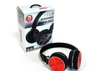 Casti audio  bluetooth KL-20, KL-18 , KL-219 cu garantie un an +livrare