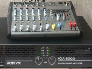 Mixer pasiv ,, m - voice '' cu flash usb , 6 canale. 2000 lei nou !!!