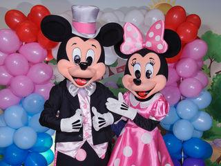 Mickey si Minnie Mouse de la Disney Land / Микки & Минни Маус / Mickey Mouse Moldova