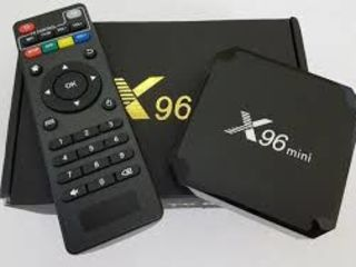 Smart Tv Box X96 mini - 50$  Android 7.1.2,ARM Cortex A53 4-ре ядра, графика Mali 450MP 5-ть ядер.