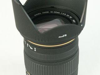 Sigma DC 1:2.8-4.5  18-50mm HSM+Blenda 120 evro