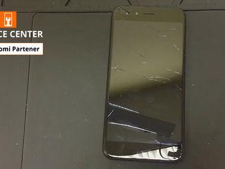 Xiaomi Mi A1 De ai spart ecranul telefonului -Luăm, reparăm, aducem !!!