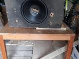 Subwoofer 800W + amplificator + cabluri 70€