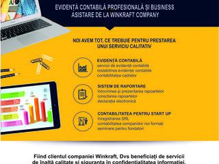 Winkraft company oferă servicii de evidență contabilă