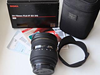 Obiective Canon Sigma .