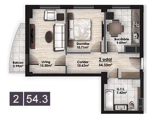 Apartament 2 odai complex GHEFEST-CIRC