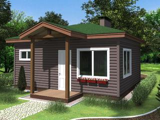 Дом на 40 м2. строительство сип домов в молдове.