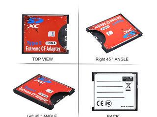 CF Adapter Extreme Compact Flash Adapter , 350lei. Адаптер для карт памяти SD UDMA в карты CF.
