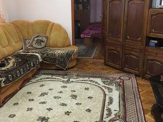 Chirie apartament cu 3 odai, euroreparatie, mobilat, linga Flacara