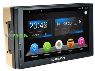 2din автомагнитола android 6.0 cyclon mp-7037 gps and. кредит!