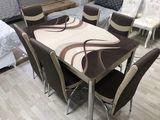 Promotie! masa extensibila cu 6 scaune la doar 4700lei