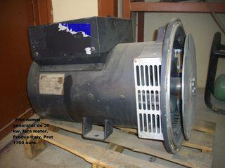 Generator 36 Kw. Pret 1200 euro.  Adus din Europa.