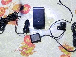 Registrator Apeman c550 dash cam. cu 2 camere full hd+hd radar,gps, practic nou