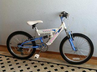 Bicicleta pentru copii din Anglia roti la 20 ,,  au frine spate fata ..6 viteze in spate