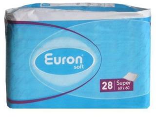 Euron гигиенические пеленки Soft Super 60x60, 28шт