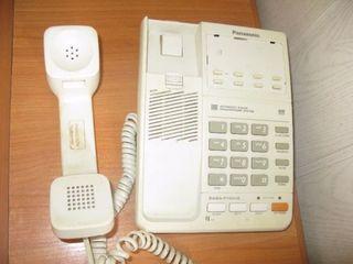 Стационарные б.у. телефоны Panasonic - 99 лей