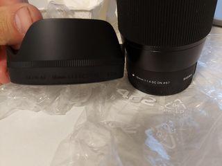 Sigma 16mm f/1.4 DC DN для камер Canon EF-M