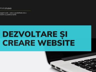 Dezvoltare si creare website pentru afacerea dvs.
