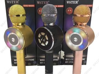 Мобильный караоке-микрофон WSTER WS-669