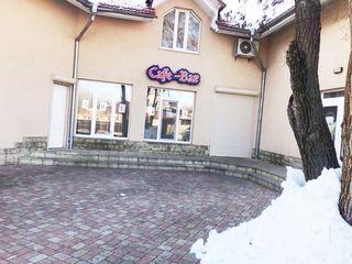 Vînare spațiu p/u cafenea, total utilat, prima linie 350€