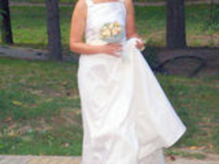 Свадебное платье известного греческого дизайнертного греческого дизайнера Vassilis Emmanuel Zoulias