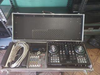 Продам DJ комплект ! Traktor S4 mkII , Allen &Heath zed6fx, keis Остался только кейс !!!