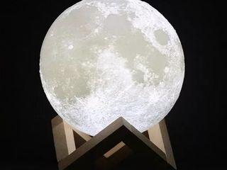 3D Светильник Луна ночник станет отличным дополнением интерьера и создаст атмосферу уюта